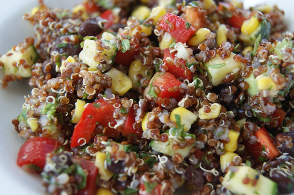 make mexican quinoa salad